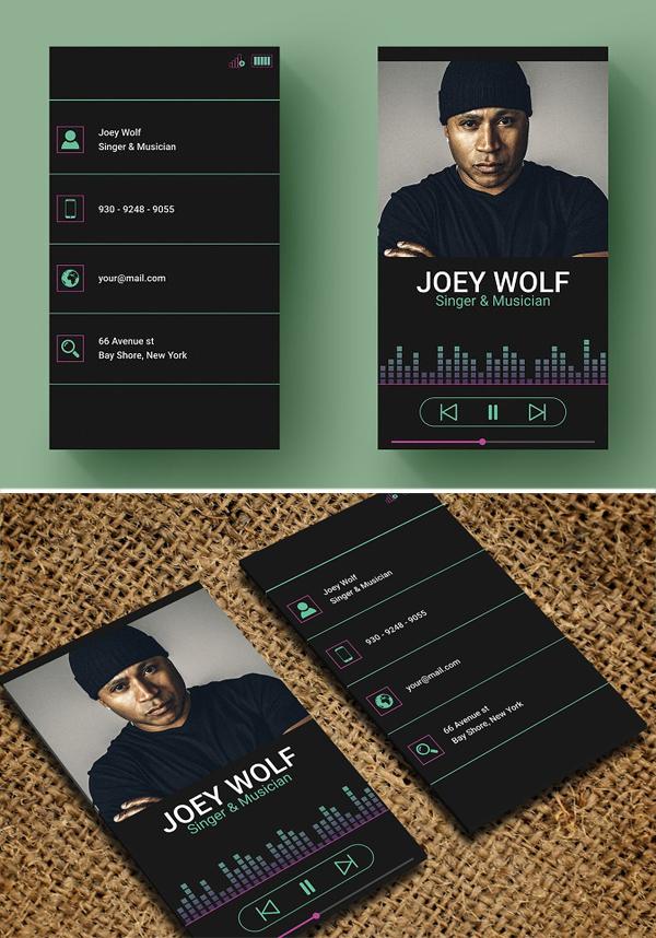Business Card - Singer