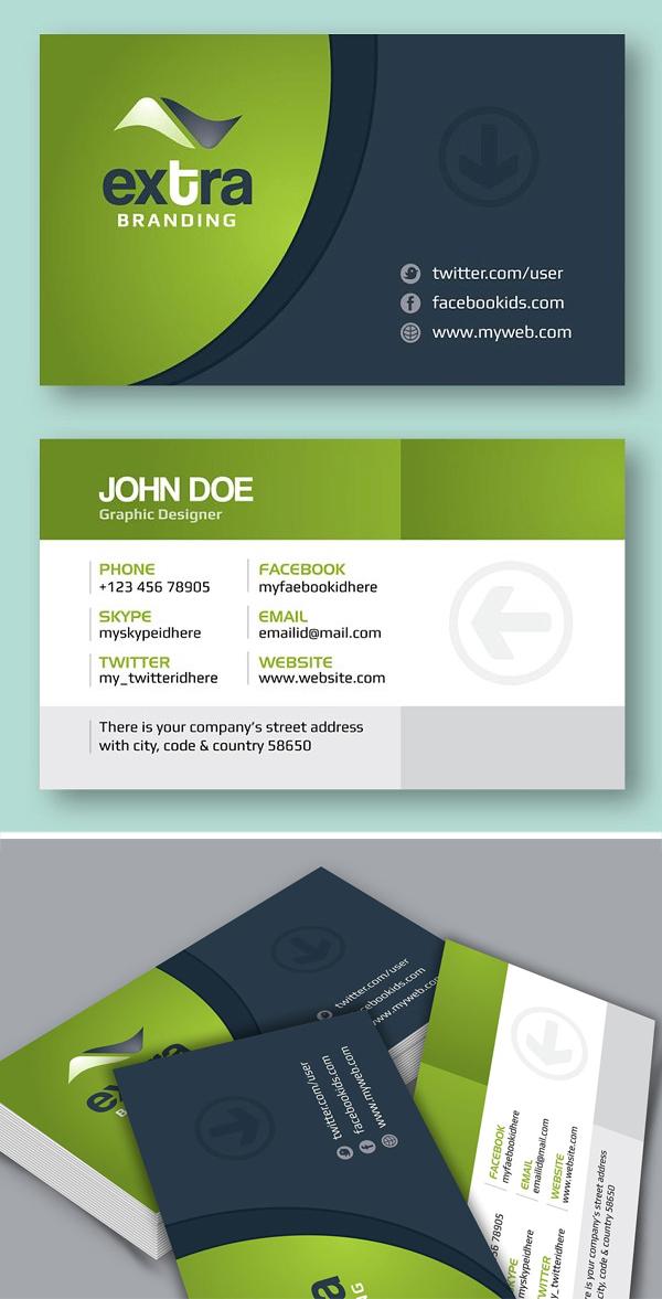 Extra _ Creative Business Card