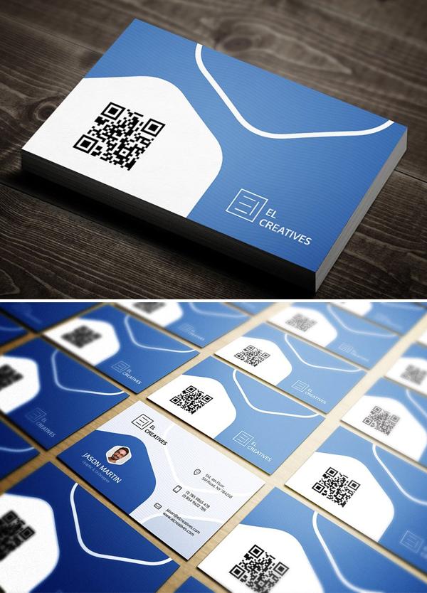 Creative Minimal Business Card Design