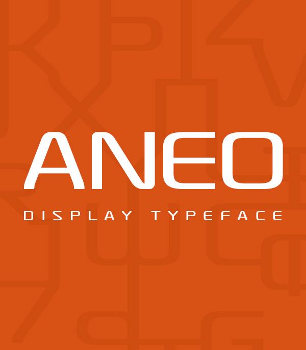 Aneo Free Font