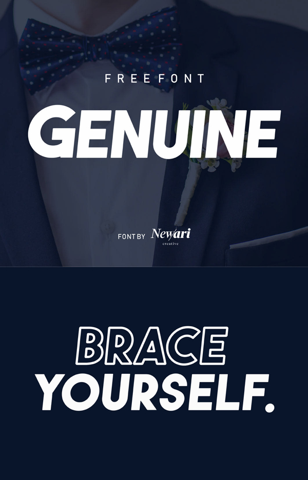 Genuine Free Font