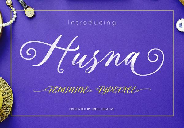 Husna Script Free Font