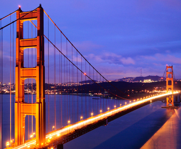 San Francisco Golden Gade Bridge Road Trip
