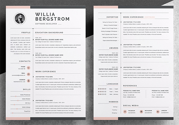Resume Template / CV Design