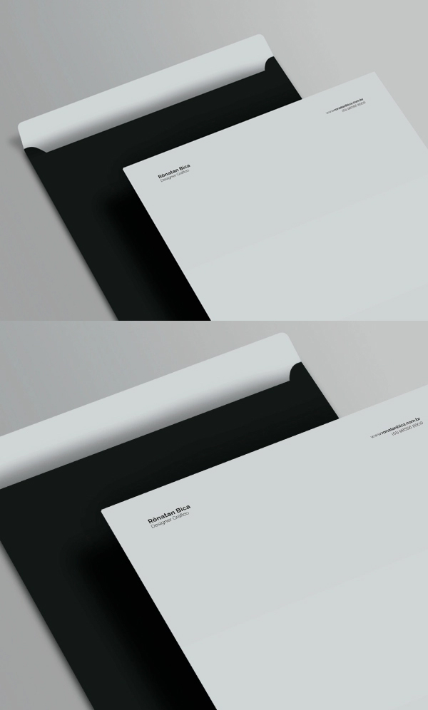 Free Envelope C4 Mockup PSD Template