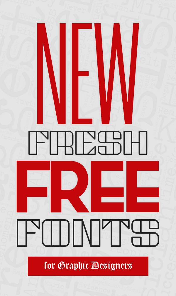 New Fresh Free Fonts Download