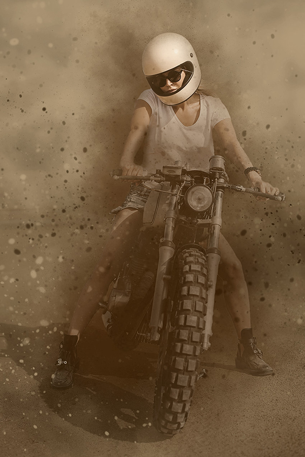 How to Make a Sandstorm Photoshop Action (Special Effect)