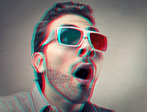 How To Create A Retro 3D Movie Effect In Photoshop Tutorial