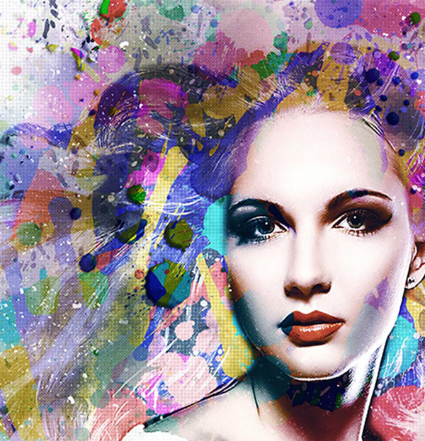 How to Create Watercolor Effect in Photoshop Tutorial