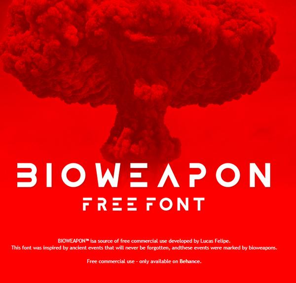 Bioweapon Free Font