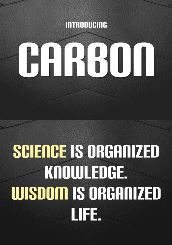 Carbon Free Font