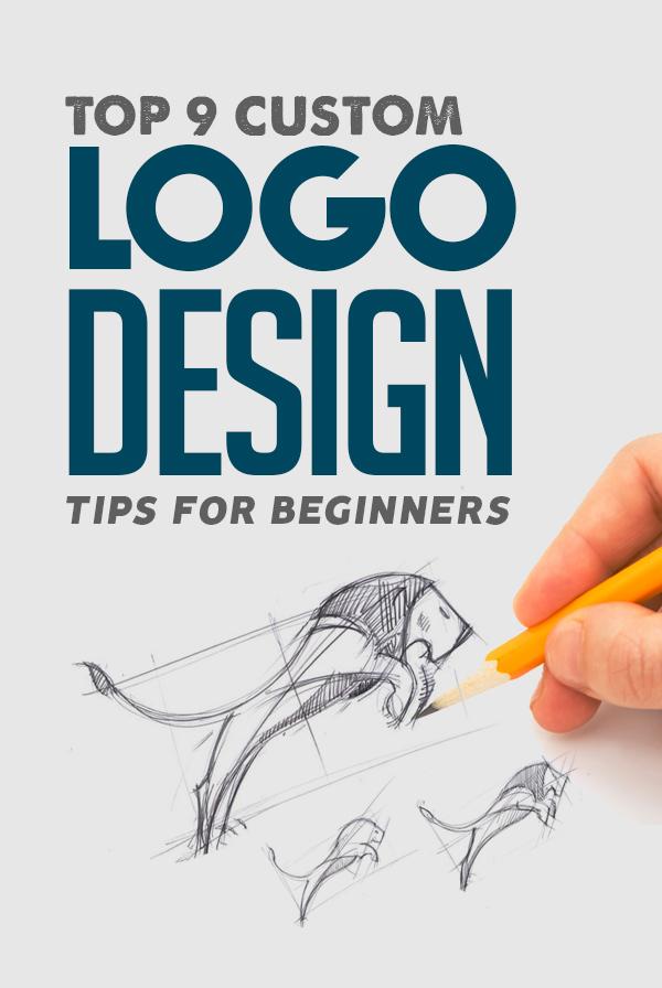 Top 9 Custom Logo Design Tips For Beginners