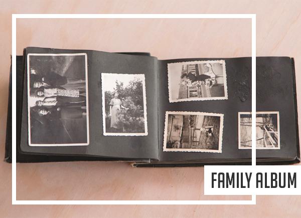 Printed family album