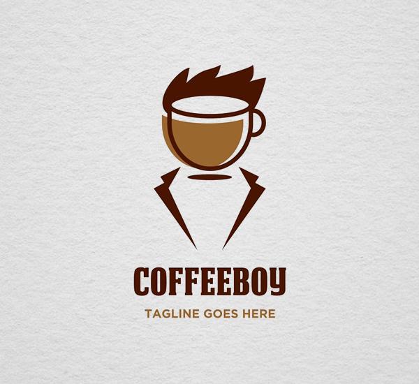 Coffee Boy Logo Design