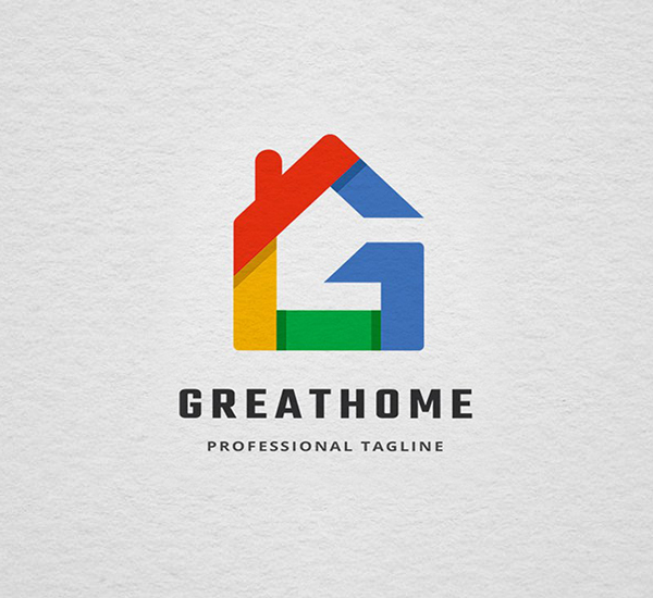Great Home Letter G Logo Design