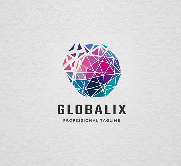 Globalix Logo Design