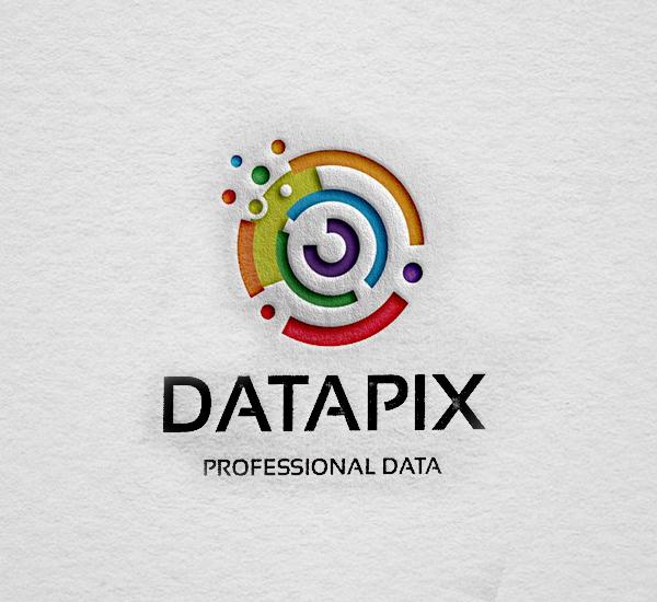 Datapix Logo Design