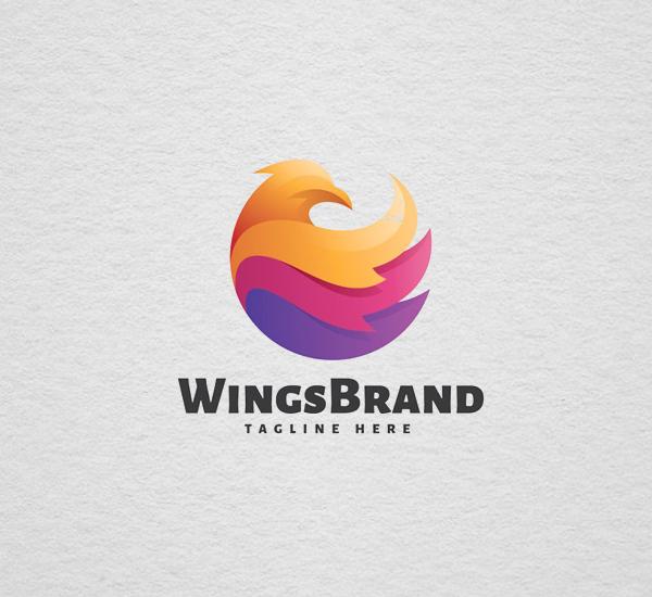 Wings Brand - Logo Template Design