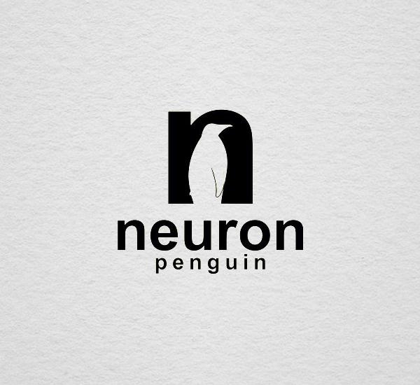 Penguin Logo Template Design