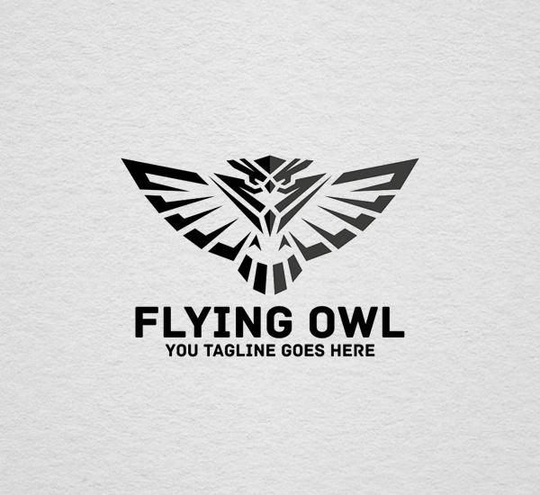 Flying Owl Logo Design