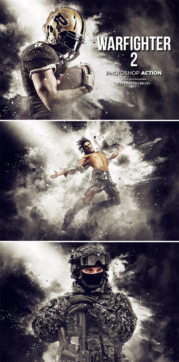 Warfighter 2 Photoshop Action