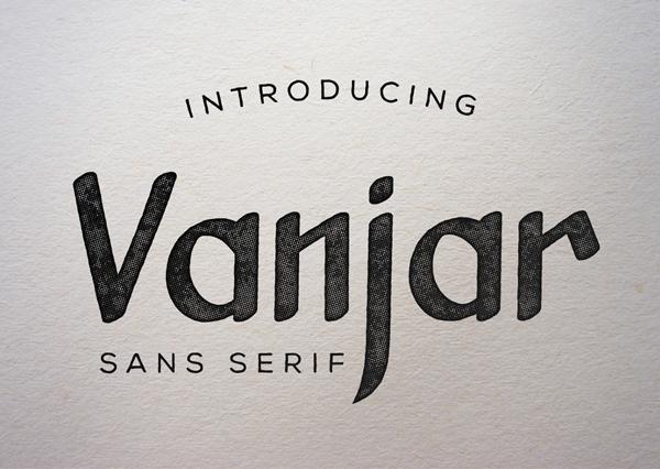 Vanjar Sans Free Font