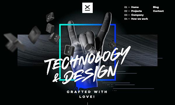 50 Creative Website Designs with Amazing UIUX - 33