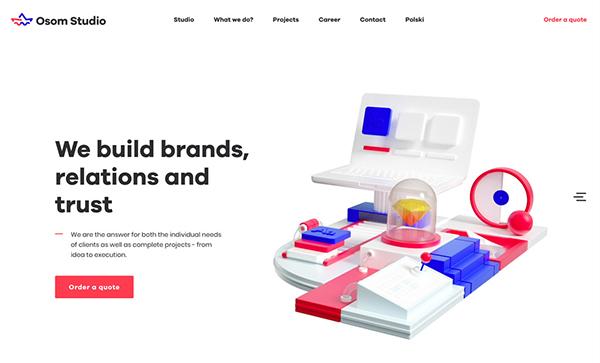 50 Creative Website Designs with Amazing UIUX - 5