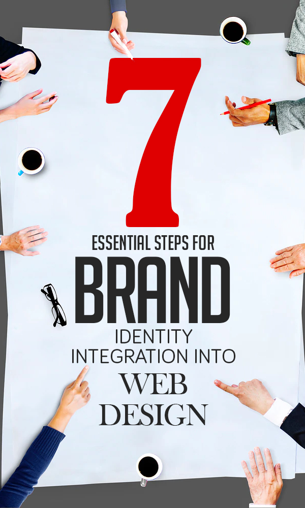 7 Essential Steps for Brand Identity Integration into Web Design