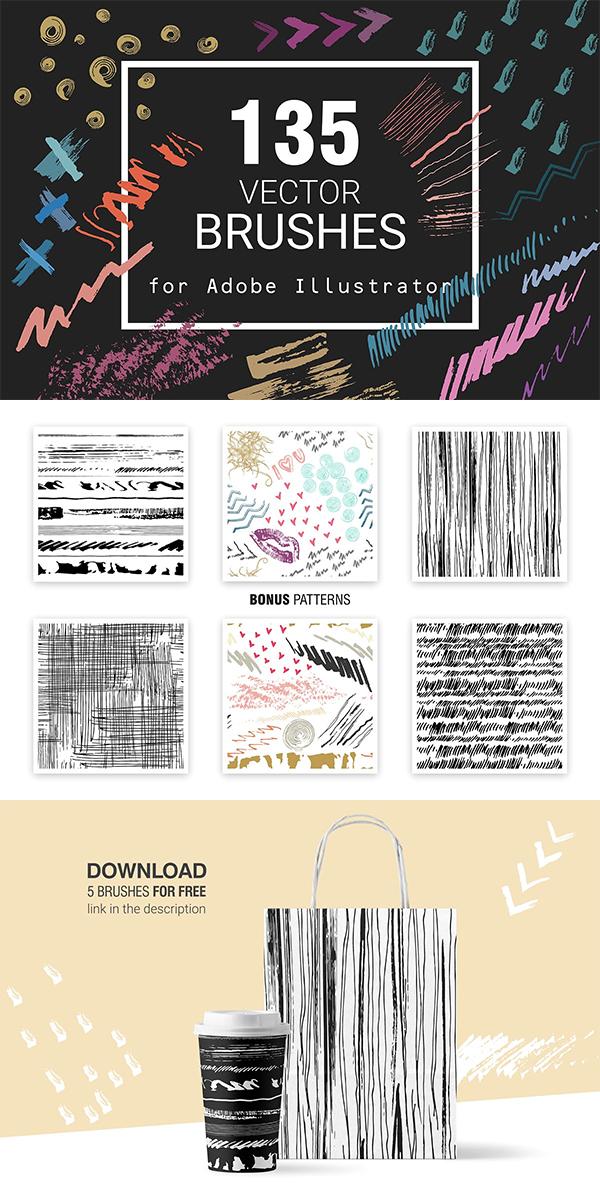 Vector Brushes for Illustrator