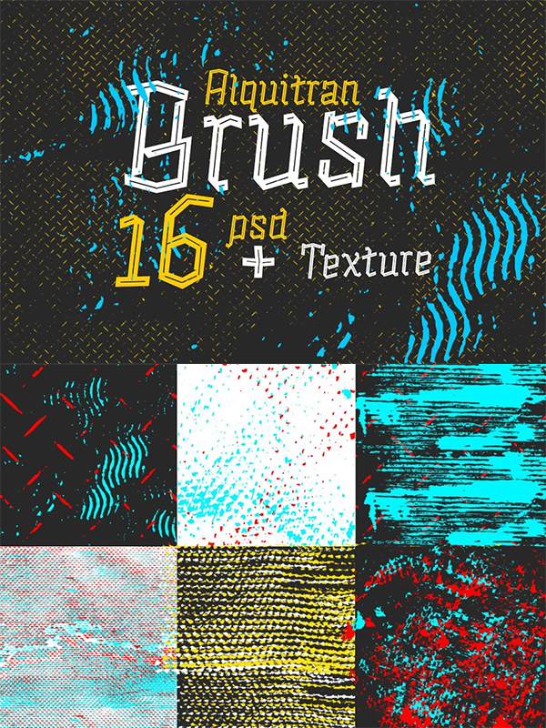 Alquitran Brush Psd + Ai