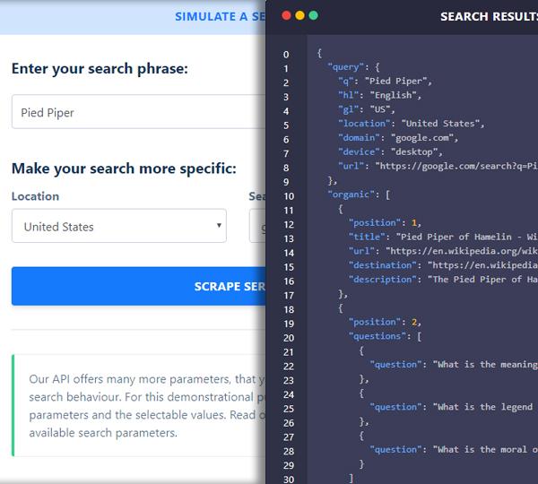 About Zenserp SERP API