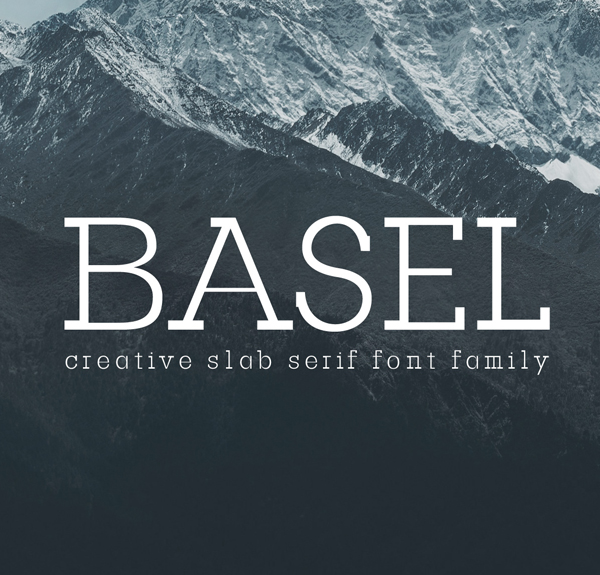 Basel Slab Serif