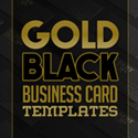 Post Thumbnail of Elegant Black and Gold Business Card Templates