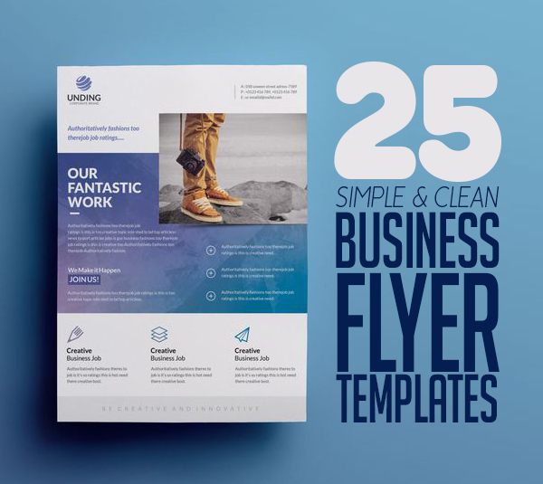 Flyer Templates: 25 Corporate Business Flyer Templates