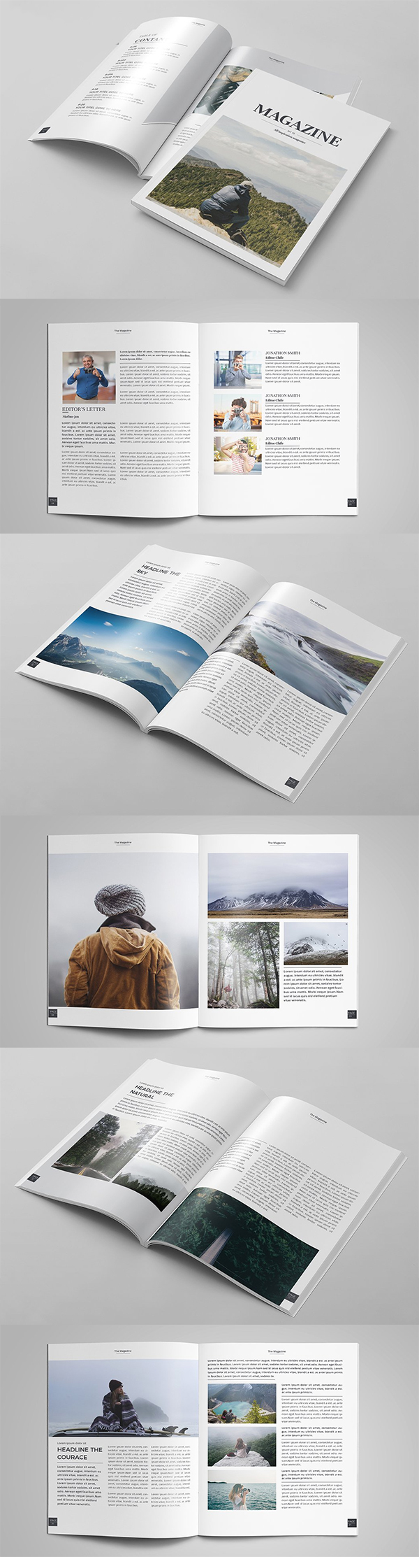 Awesome Magazine Brochure