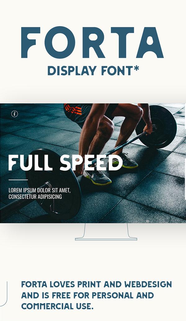 FORTA Free Font