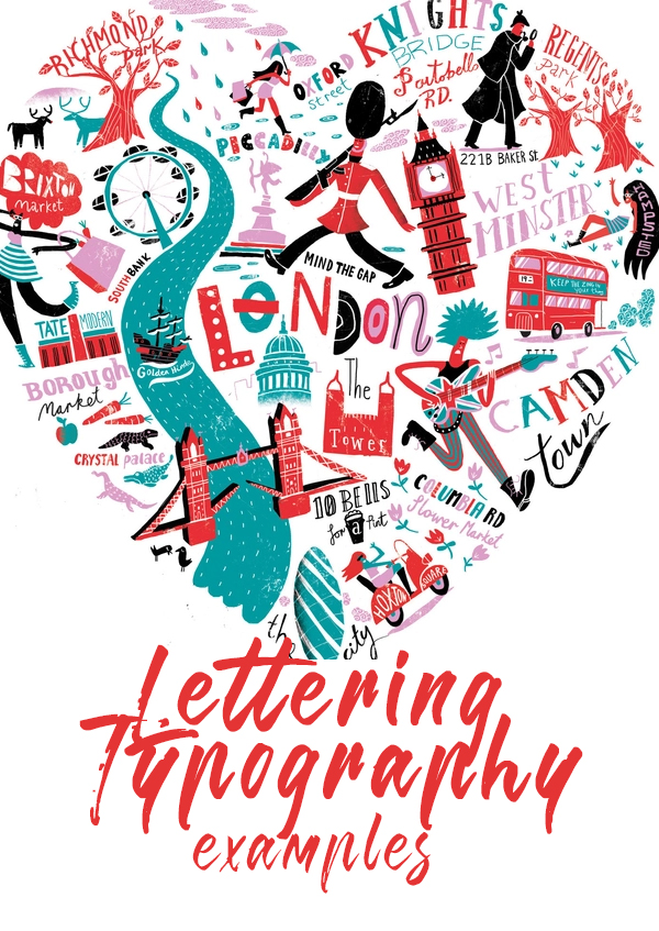 45 Remarkable Hand-Lettering and Typography Designs for Inspiration