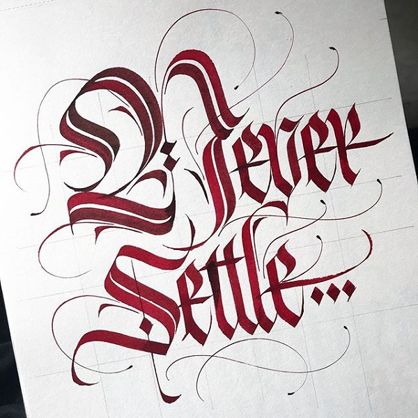 45 Remarkable Lettering and Typography Designs for Inspiration - 13