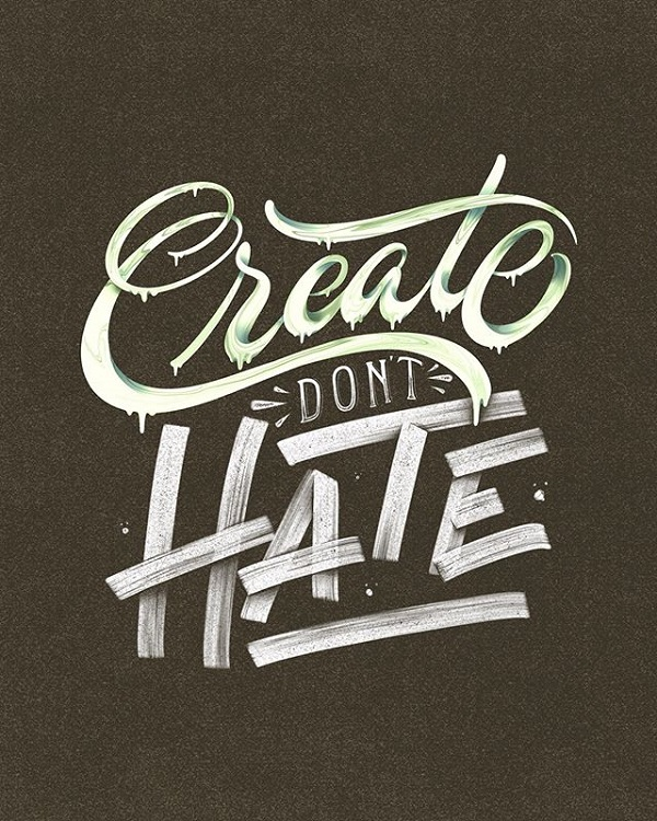 45 Remarkable Lettering and Typography Designs for Inspiration - 23