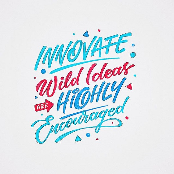 45 Remarkable Lettering and Typography Designs for Inspiration - 27