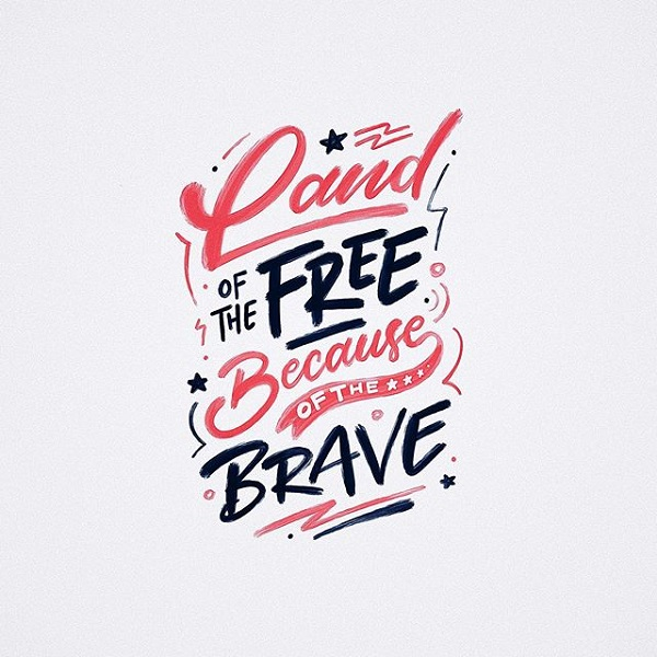 45 Remarkable Lettering and Typography Designs for Inspiration - 28