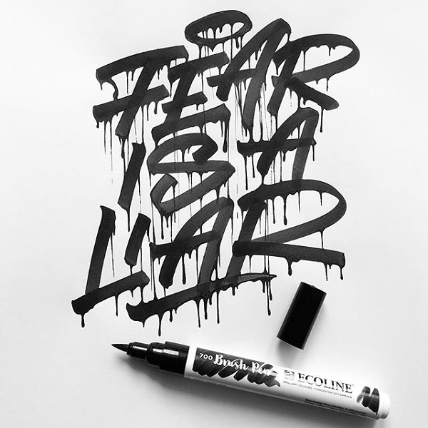 45 Remarkable Lettering and Typography Designs for Inspiration - 3