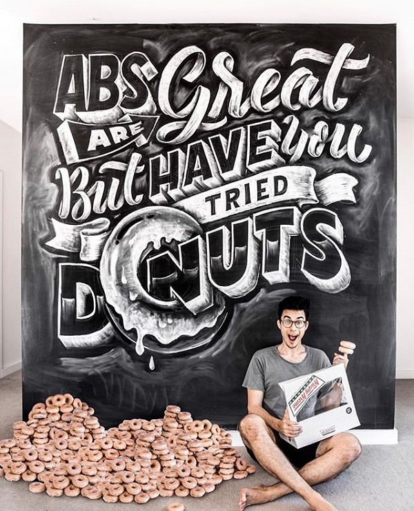 45 Remarkable Lettering and Typography Designs for Inspiration - 35