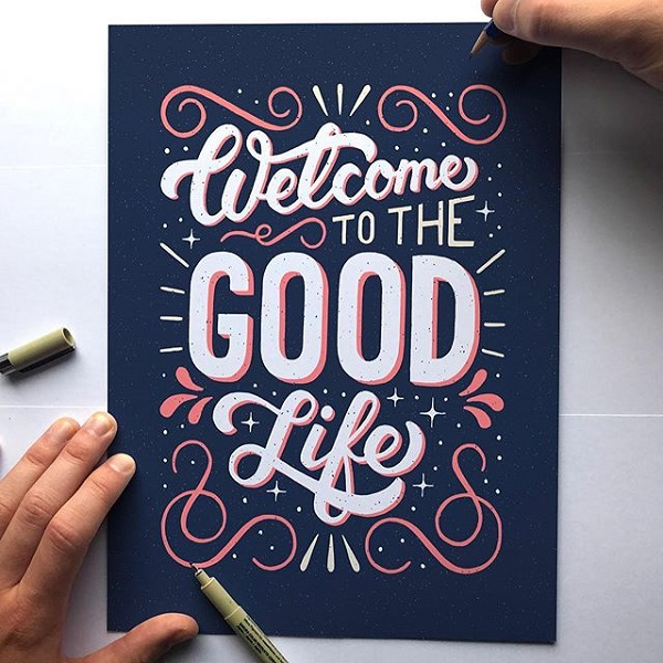 45 Remarkable Lettering and Typography Designs for Inspiration - 36