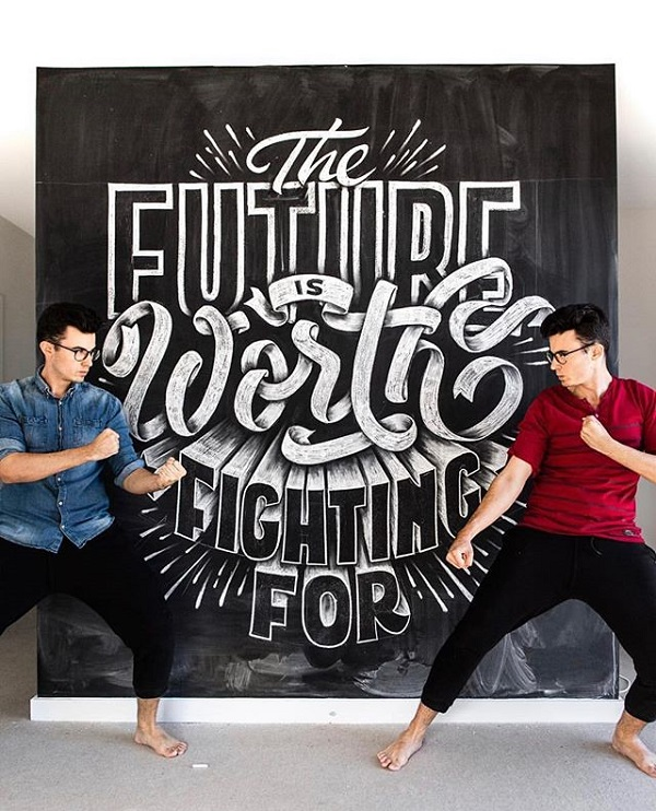 45 Remarkable Lettering and Typography Designs for Inspiration - 44