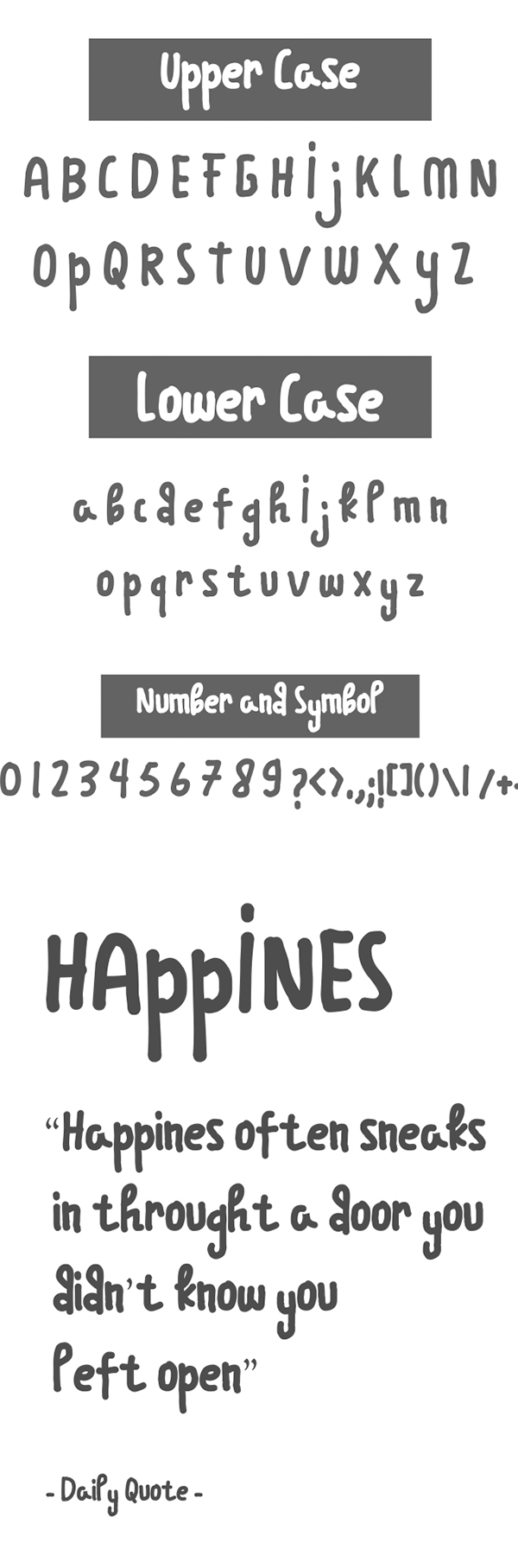 Over the moon Free Font Letters