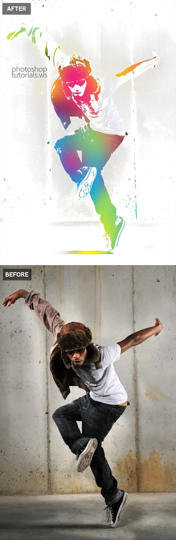 How to Create Urban Ink Photo Effect in Photoshop Tutorial