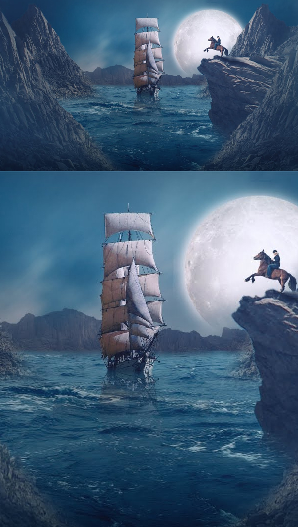 How to Create Concept Scene Photoshop Manipulation Tutorial