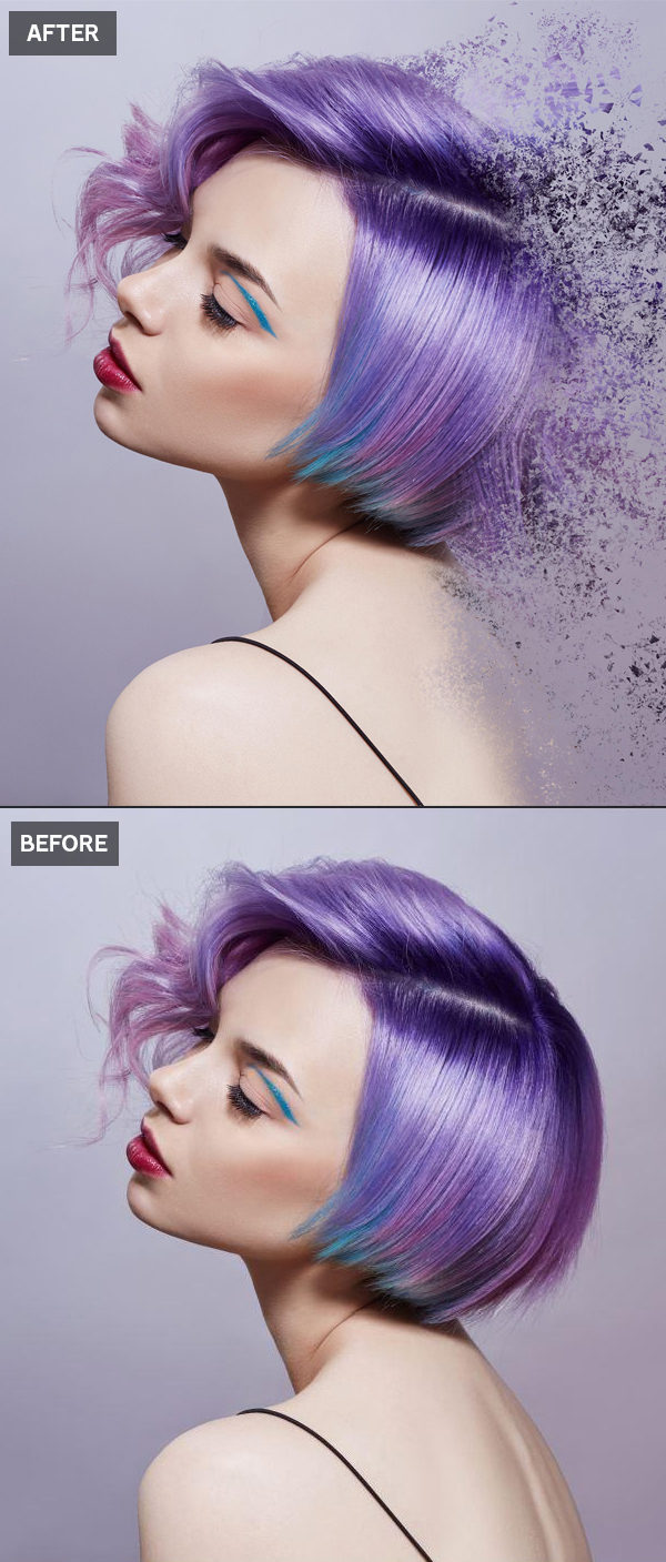How to Create Dispersion Effect in Photoshop Tutorial